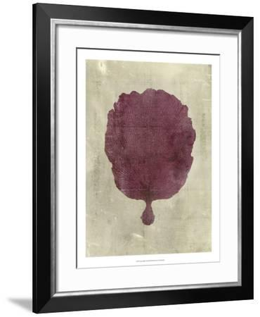 Coral in Plum-Vision Studio-Framed Art Print