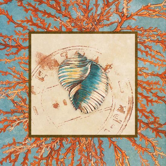 Coral Medley Shell I-Lanie Loreth-Art Print