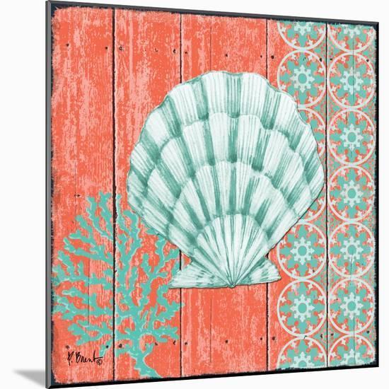 Coral Sea II-Paul Brent-Mounted Art Print