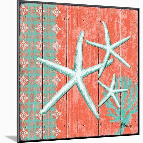Coral Sea III-Paul Brent-Mounted Art Print