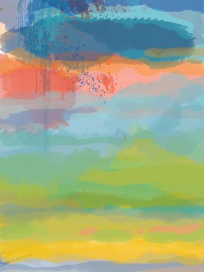 Coral Sky-Jan Weiss-Art Print