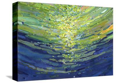 Coral Waves II-Margaret Juul-Stretched Canvas Print