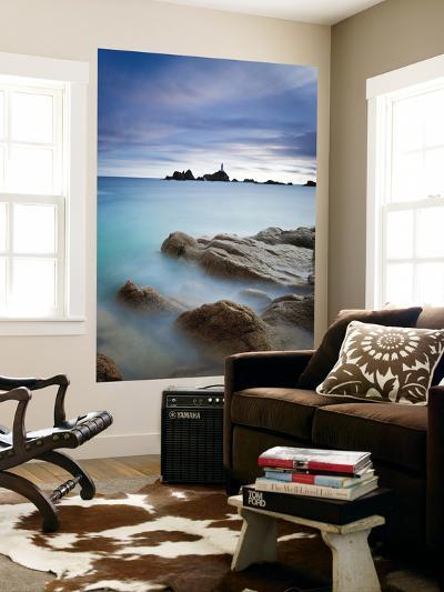 Corbiere Lighthouse, Jersey, Channel Islands, UK-Gavin Hellier-Wall Mural
