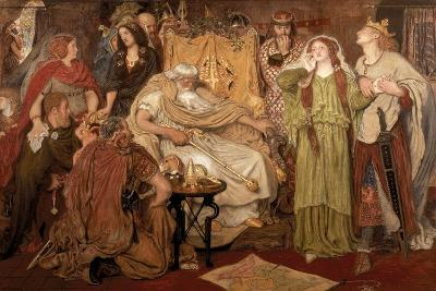 Cordelia's Portion, 1866-Ford Madox Brown-Giclee Print