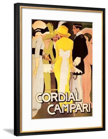 Cordial Campari-Marcello Dudovich-Framed Art Print