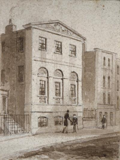 Cordwainers' Hall, Distaff Lane, City of London, 1832-Thomas Hosmer Shepherd-Giclee Print