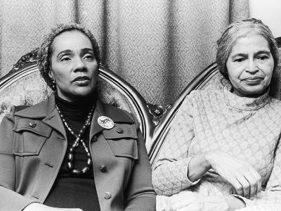 Coretta Scott King and Rosa Parks-Todd Duncan-Photographic Print