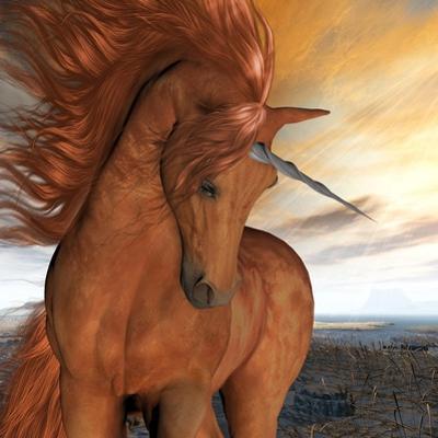 Burnt Sky Unicorn by Corey Ford