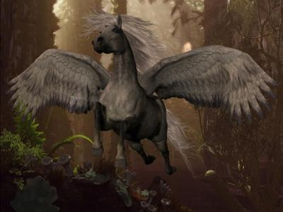 Flying Pegasus by Corey Ford