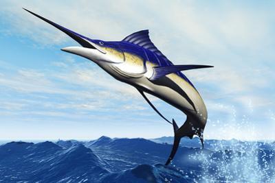 Marlin Jump by Corey Ford
