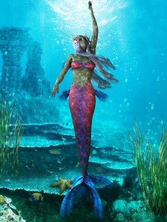 Ocean Mermaid by Corey Ford