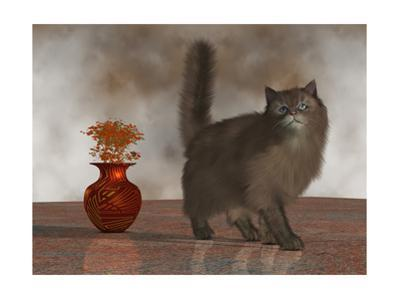 Rufus The House Cat by Corey Ford