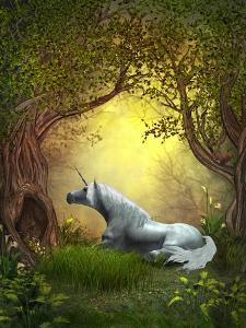 Woodland Unicorn by Corey Ford