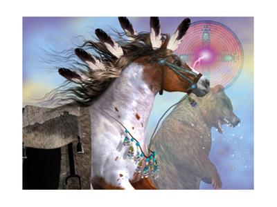Year Of The Bear Horse by Corey Ford