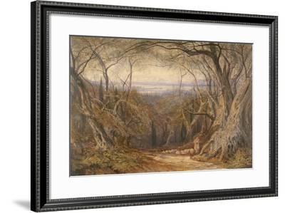 Corfu, 1871-Edward Lear-Framed Giclee Print