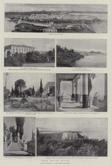 Corfu and its Palaces--Giclee Print