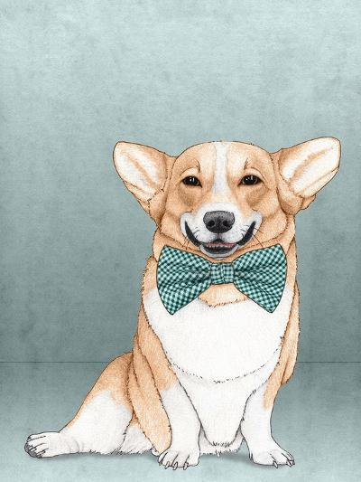 Corgi Dog-Barruf-Art Print