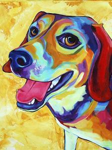 Beagle Dog Lucy Lu by Corina St. Martin