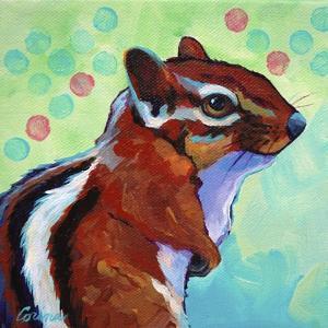 Chipmunk by Corina St. Martin