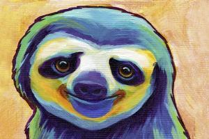 Happy Sloth by Corina St. Martin