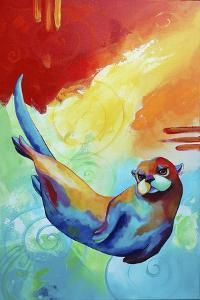 River Otter by Corina St. Martin