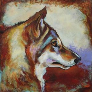 Wolf Portrait by Corina St. Martin