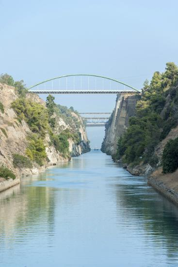 Corinth Canal, Greece, Europe-Jim Engelbrecht-Premium Photographic Print
