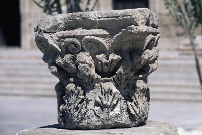 Corinthian Capital in Forum of Amman, Jordan AD--Giclee Print