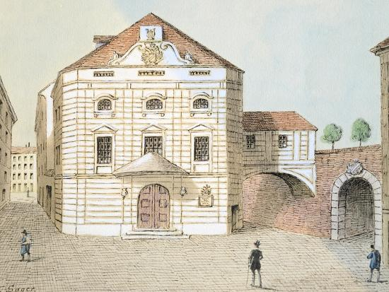 Corinthian Gate Theatre in Vienna, Austria--Giclee Print