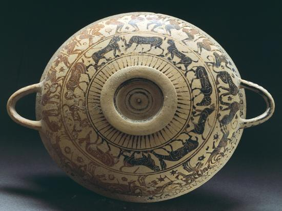 Corinthian Pottery from Apulia, Italy--Giclee Print