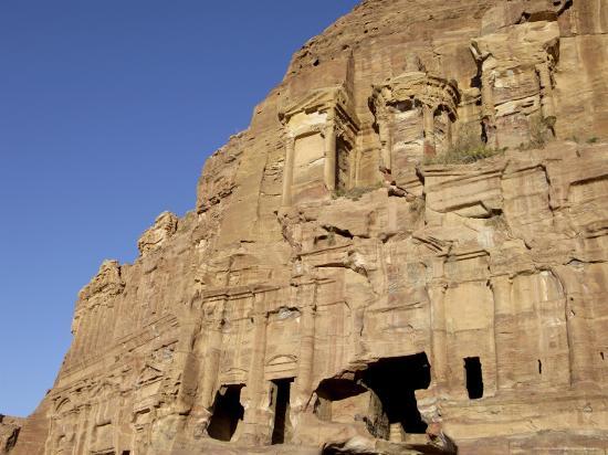 Corinthian Tomb, Petra, Unesco World Heritage Site, Jordan, Middle East-Sergio Pitamitz-Photographic Print