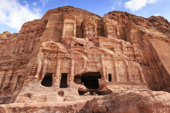 Corinthian Tomb, Royal Tombs, Petra, UNESCO World Heritage Site, Jordan, Middle East-Eleanor Scriven-Photographic Print