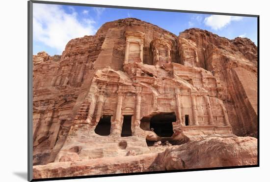 Corinthian Tomb, Royal Tombs, Petra, UNESCO World Heritage Site, Jordan, Middle East-Eleanor Scriven-Mounted Photographic Print
