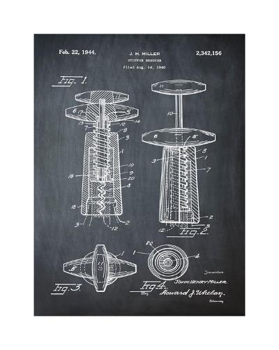 Corkscrew 1944 Chalk-Bill Cannon-Giclee Print
