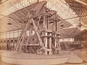 Corliss Engine, Centennial International Exhibition, Philadelphia, 1876