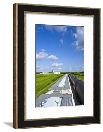 Corn Ethanol Processing Plant-David Nunuk-Framed Photographic Print