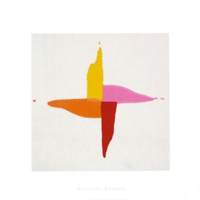 Corn Sweet, c.1961-Kenneth Noland-Serigraph