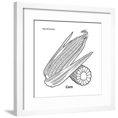 Corn-Olga And Alexey Drozdov-Framed Giclee Print