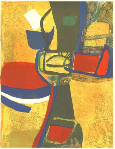 Corne a Licou-Maurice Esteve-Collectable Print