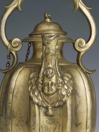 Gilded Silver Pitcher, 1618-1623