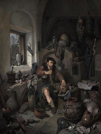 The Alchemist, 1663