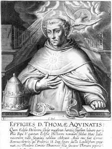 St. Thomas Aquinas by Cornelis Boel