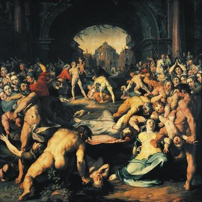 Massacre of Innocents, Central Panel of Triptych