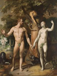 The Fall of Man, 1592 by Cornelis Cornelisz^ van Haarlem