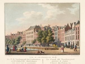 Vue D'Amsterdam No.18. De N.Z. Voorburgwal by Cornelis de Kruyff