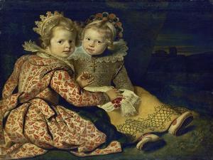 Magdalena and Jan-Baptist De Vos, the Painter's Children, about 1622 by Cornelis De Vos