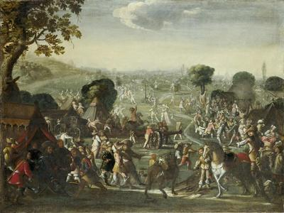 The Plundering of a Village During the Thirty Years' War, 1660