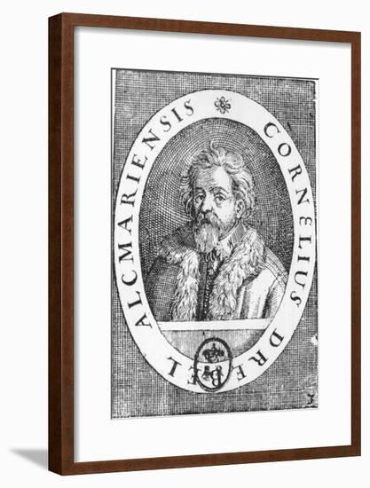 Cornelis Drebbel Dutch Physician and Inventor Spent Most of His Life in England--Framed Giclee Print