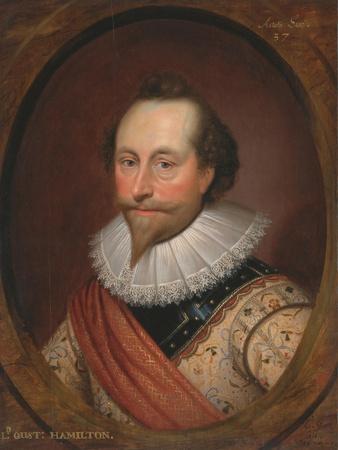Portrait of Sir Alexander Temple, 1620