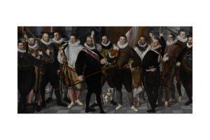 Company of Captain Dirck Jacobsz Rosecrans and Lieutenant Pauw by Cornelis Ketel
